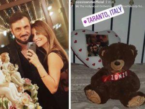 Sossio e Ursula foto Instagram