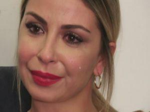 sabrina ghio lacrime piange figlia penelope