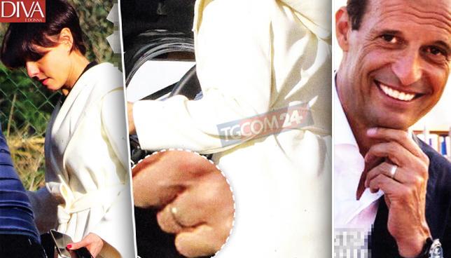 max allegri ambra cappotto bianco