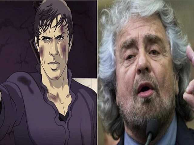 Adrian vs Beppe Grillo