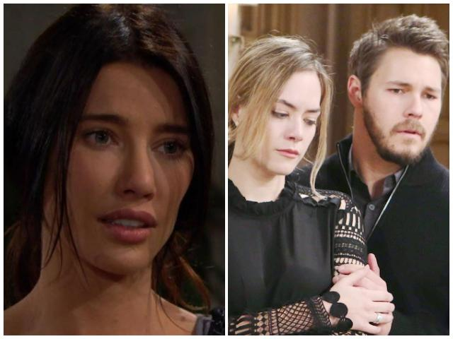 beautiful: hope, liam e steffy