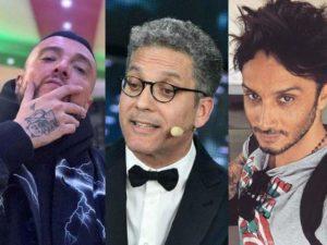 Guè Pequeno Beppe Fiorello Fabrizio Moro sanremo 2019