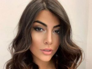 Giulia Salemi boccoli