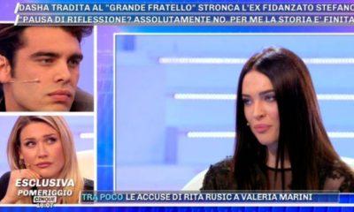Stefano e Benedetta pomeriggio 5