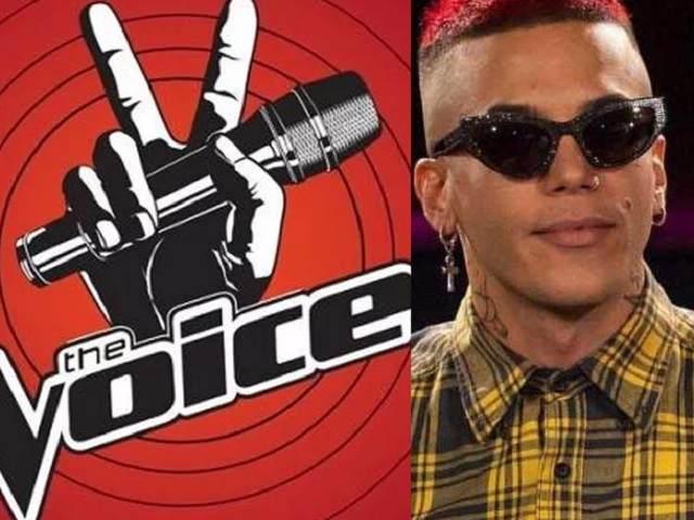 the voice microfono