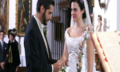 una vita, maria luisa e victor si sposano