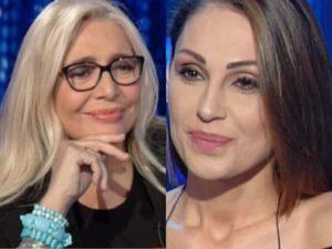 Domenica In: Anna Tatangelo e il gesto affettuoso a Mara Venier dopo l'intervista