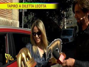 Diletta Leotta tapiro d'oro
