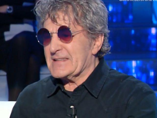 """Fausto Leali con gli occhiali a Domenica In: """"Ho subito un intervento"""""""