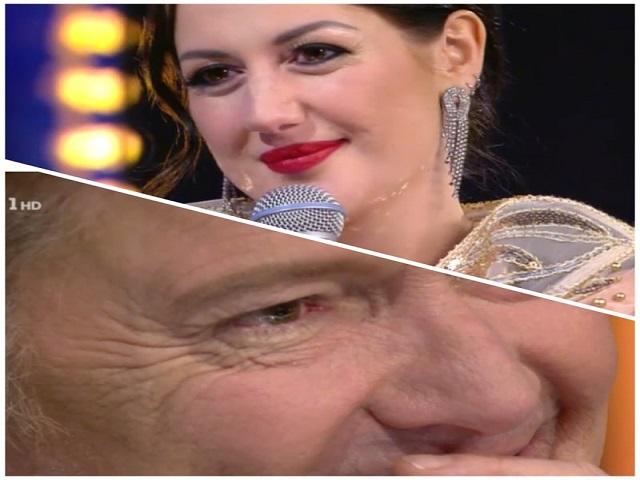 Red Canzian in lacrime per Jessica Morlacchi alla finale di Ora o mai più
