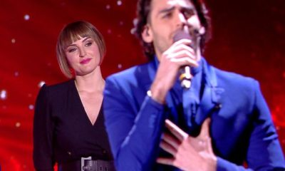Alberto Urso Amici 2019 canta con Arisa
