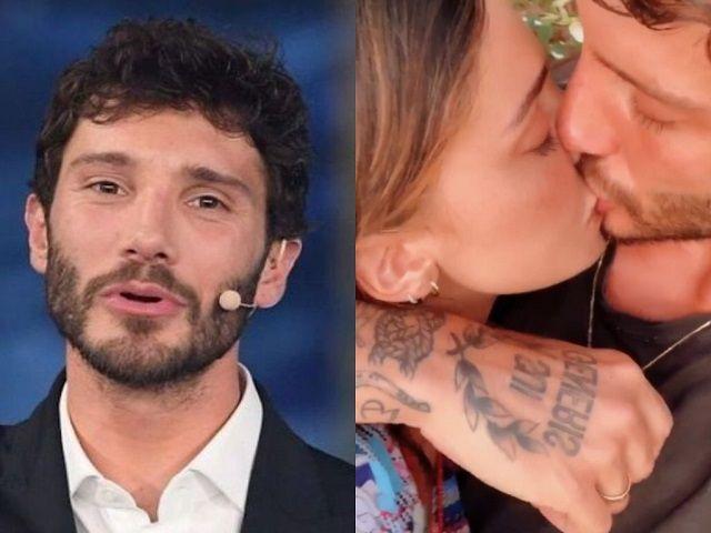 Belen e Stefano, bacio Made in Sud