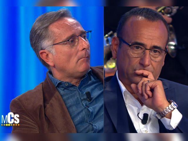 Bonolis e Conti commentano la sfida del venerdì sera: frecciatina a d'Urso e Venier?