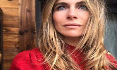Eleonora Pedron: maglione rosso