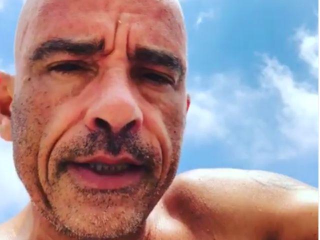 Eros Ramazzotti malato: la foto su Instagram lascia i fan senza parole