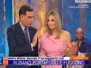 """La Vita in Diretta, Fialdini fa alterare timperi. Nuovo litigio: """"Ancora insisti?"""""""