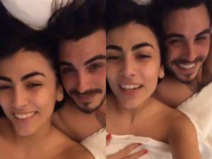 Giulia Salemi e Francesco Monte in California dopo il pronto soccorso