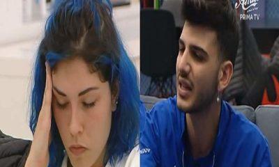 Ludovica e Jefeo litigano
