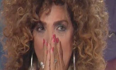 Marcella Bella in lacrime a Storia Italiane, la mamma e la Rettore