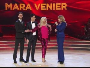 milly carlucci incidente piede