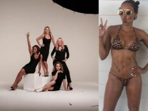 Mel B salta le prove dopo lite con Geri: tour Spice Girls a rischio?