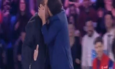 Bacio Pio Grigolo foto