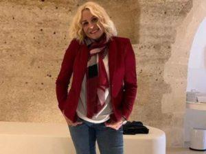 La presentatrice Antonella Clerici su instagram conquista follower e vip