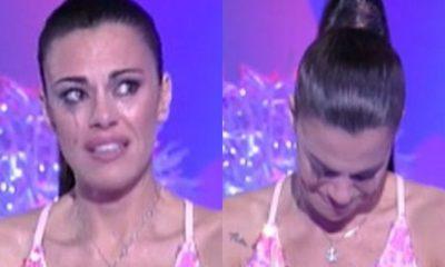 Bianca Guaccero in lacrime per messaggio della figlia