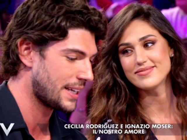 """Ignazio e Cecilia a Verissimo, Silvia li stuzzica: """"Matrimonio?"""", e Moser vuole un figlio"""