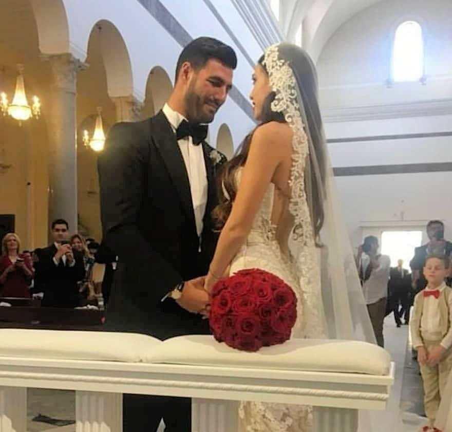 clarissa e federico si sono sposati