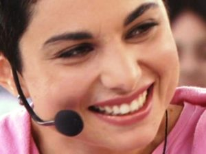 Giordana Angi sorriso