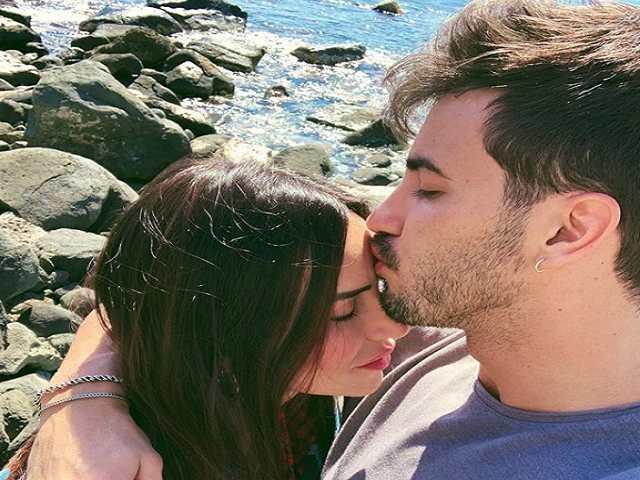 Ivan Gonzalez e Sonia Patta scoglirino mare