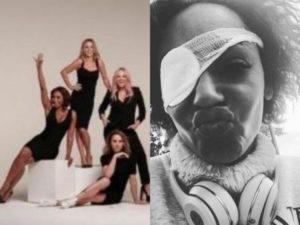 Spice Girls, Mel B occhio infezione