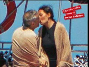 bacio elisabetta gregoraci e fidanzato