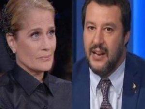 Heather Parisi contro Matteo Salvini