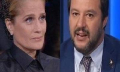 Heather Parisi contro Matteo Salvini