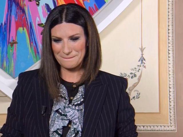 Laura Pausini in lacrime a Buon compleanno Pippo
