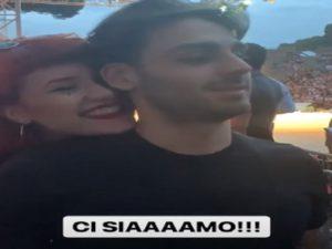 Alberto e Tish abbraccio