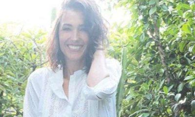 Caterina Balivo con abito da sposa a Capri: la foto sorprendente