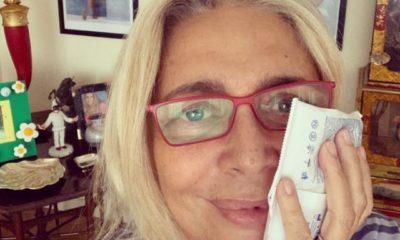 Mara Venier intervento, ghiaccio in viso: a cosa è stata operata
