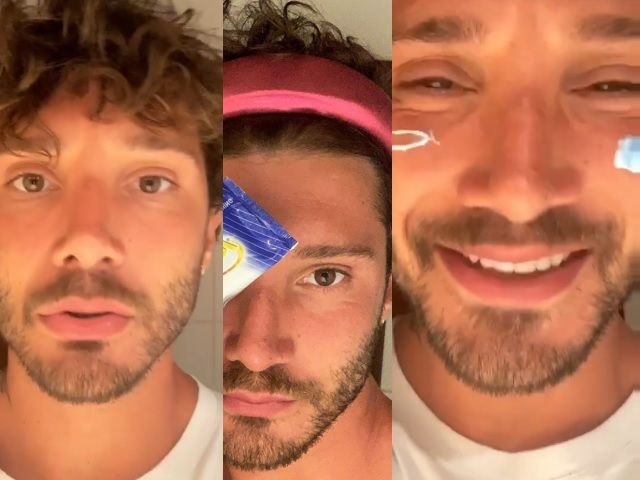 stefano de martino prende in giro gli influencer