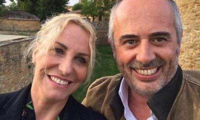 Vittorio Garrone e Antonella Clerici: conclusa la vacanza romantica in Francia
