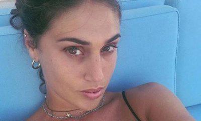 Cecilia Rodriguez selfie mare