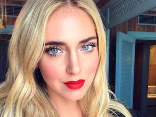 Chiara Ferragni selfie intervista