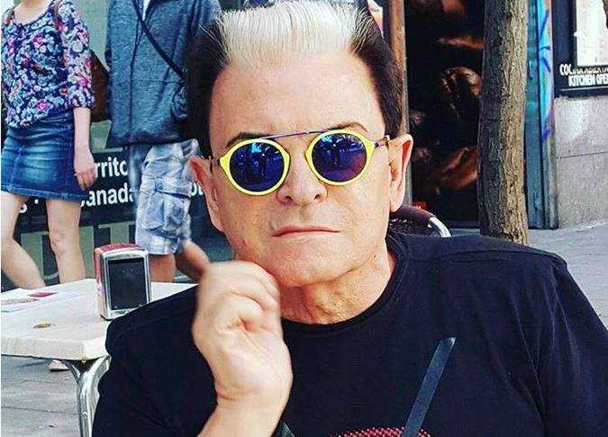 Cristiano Malgioglio occhiali 2019