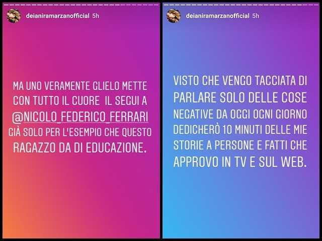 Deianira Marzano Nicolò Ferrari screen