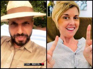 Jonathan Kashanian e Nadia Toffa