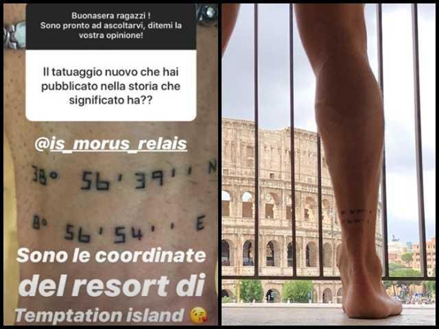 I tatuaggi di Massimo e Vittorio - Temptation Island