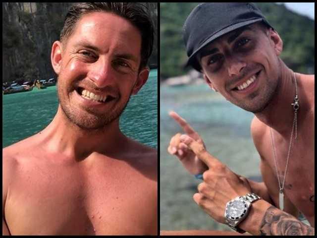 Massimo e Vittorio spiaggia