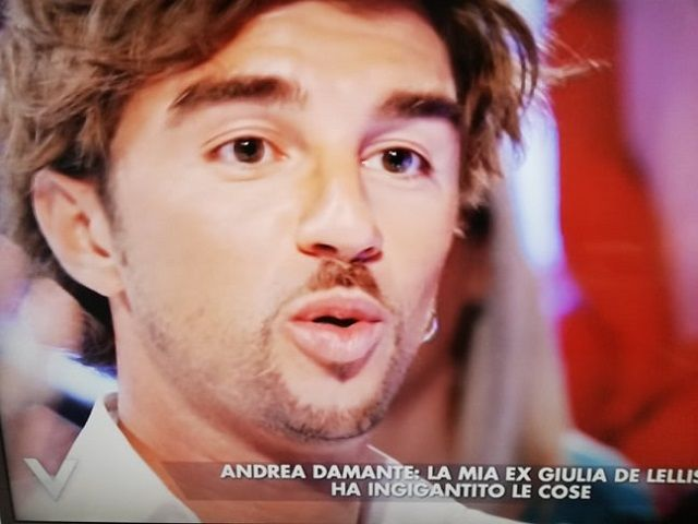 andrea damante intervista verissimo